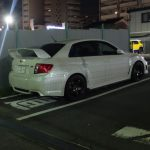 W Kioto też natknąłem się na Impreze WRX STI GVB.
