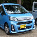 Subaru bardzo mocno działa też na rynku popularnych kei-carów. Stella to jeden z czołowych modeli.
