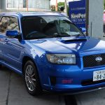 A to auto właściciela stacji paliw w Hiroszimie. Ostatni prawdziwy Forester STI