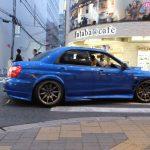 Mocno zmodyfikowa Impreza WRX STI w Osace