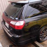 Legacy STi S401 w Hiroszimie