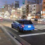 Legacy Tuned by STI na ulicach Hiroszimy